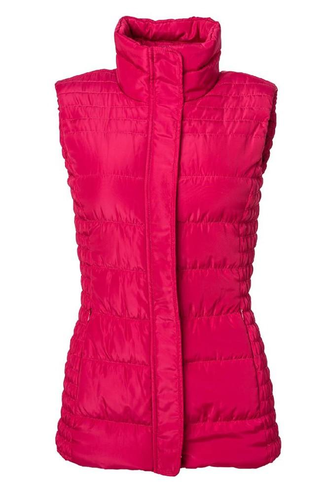 Dámská zateplená vesta O´Style 6527 pink