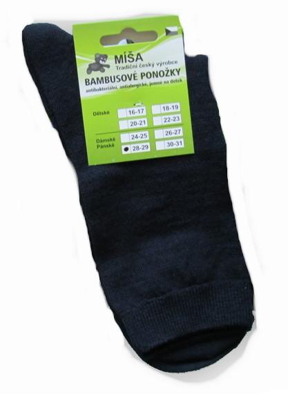 Dámské a pánské bambusové ponožky Novia Míša
