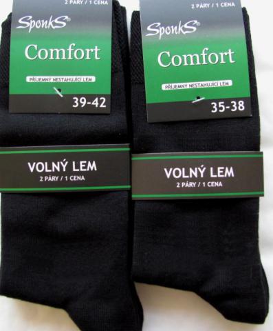 Dámské a pánské ponožky Sponks - 2 páry