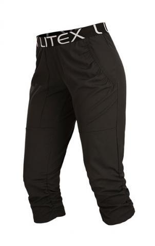 Dámské černé kalhoty Litex 5B190