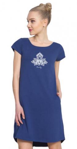 Dámské domácí šaty s krátkým rukávem Vienetta Secret Lovely