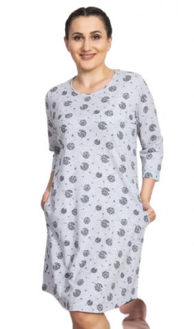 Dámské domácí šaty s tříčtvrtečním rukávem Vienetta Secret Pampeliška