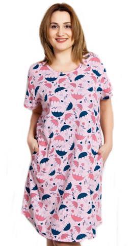 Dámské domácí šaty Vienetta Secret Deštníky