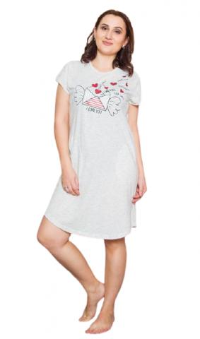 Dámské domácí šaty Vienetta Secret Dopis z lásky