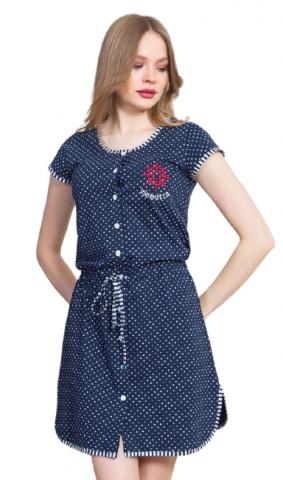 Dámské domácí šaty Vienetta Secret Kormidlo