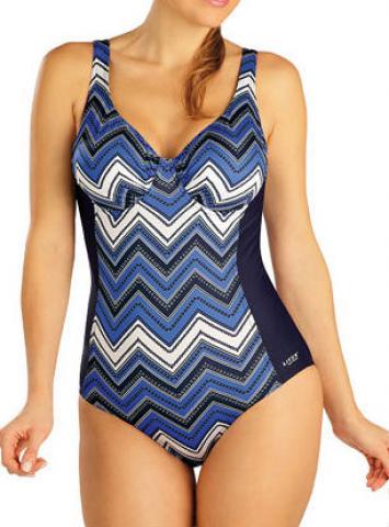 Dámské jednodílné plavky s kosticemi Litex 52406