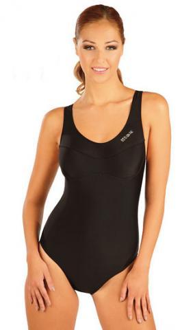 Dámské jednodílné sportovní plavky Litex 57431 černé