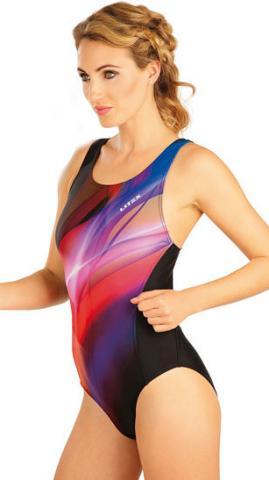 Dámské jednodílné sportovní plavky Litex 57480