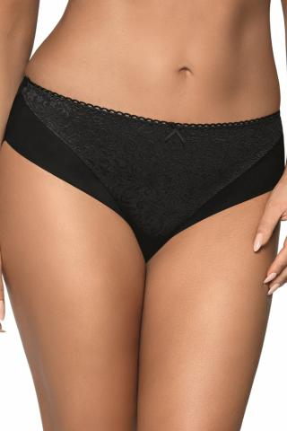 Dámské kalhotky AVA 1740 Jacquard černé