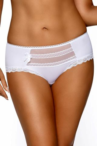 Dámské kalhotky AVA 995 Caltha plus bílé
