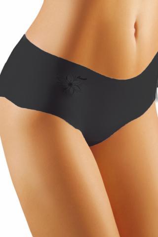 Dámské kalhotky Emili Flower černé