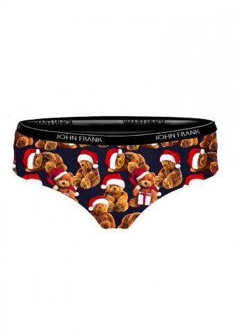 Dámské kalhotky John Frank WJFD-H27 Medvídek