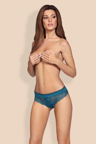 Dámské kalhotky Obsessive Miamor panties tyrkys