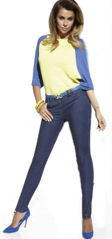 Dámské kalhoty BasBleu Natalie jeans