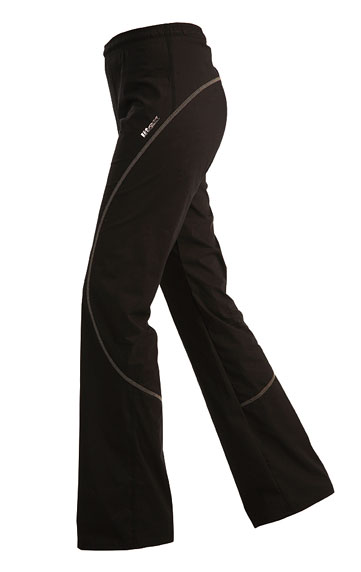 Dámské kalhoty dlouhé do pasu Litex 99580 černé