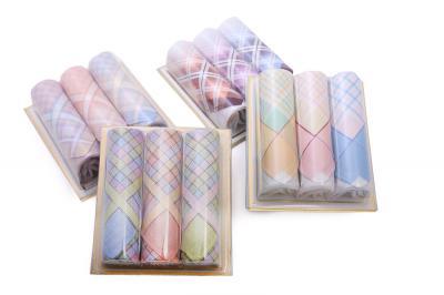 Dámské kapesníky L16 dárková krabička - 3ks