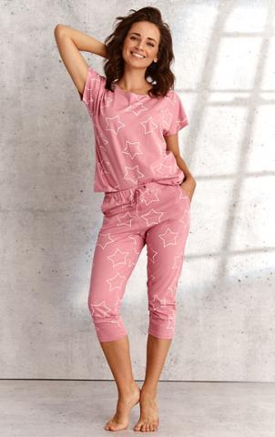 Dámské kapri pyžamo Litex 5B432 růžová