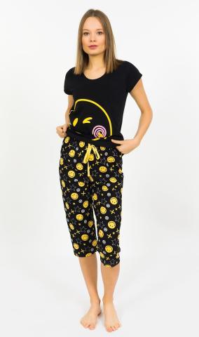 Dámské kapri pyžamo Vienetta Secret Big Smile