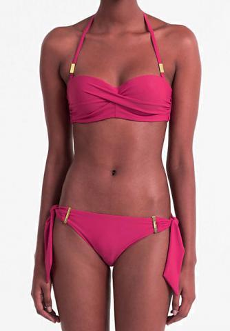 Dámské korzetové push-up plavky Calvin Klein KW0KW00298
