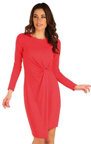Dámské lososové šaty Litex 7A158
