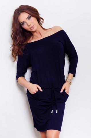 Dámské modré šaty Numoco 13-15