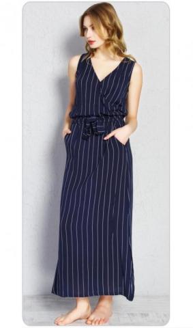 Dámské modré šaty Vienetta Secret Alena