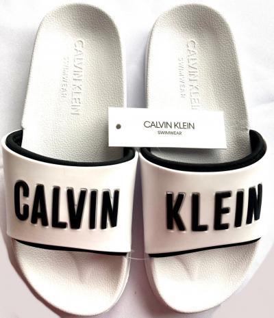 Dámské nazováky Calvin Klein KW01372 bílé