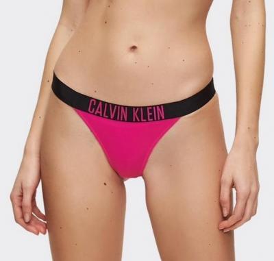 Dámské plavkové brazilky Calvin Klein KW00939 růžová