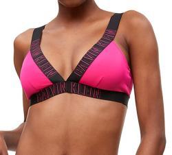 Dámské plavky Calvin Klein KW0KW00579 podprsenka růžová