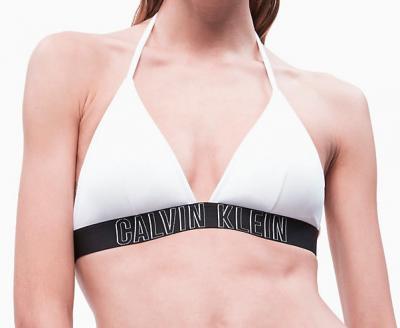 Dámské plavky Calvin Klein KW0KW00592 podprsenka bílá