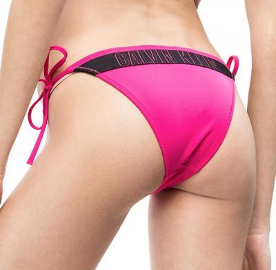 Dámské plavky Calvin Klein KW0KW00647 kalhotky růžové