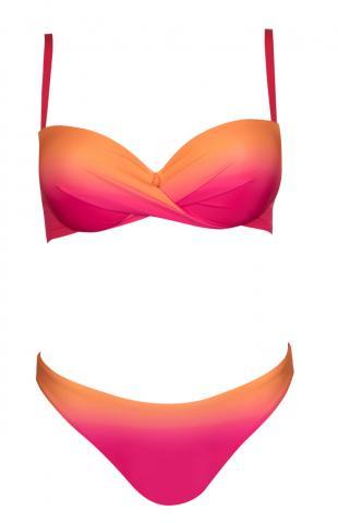 Dámské plavky Lisca 40428 Eldorado růžové