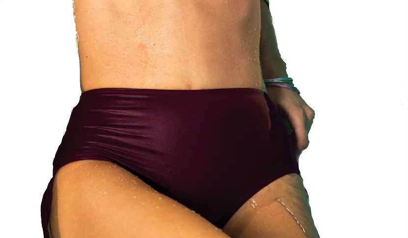 Dámské plavky Lormar Sfera Slip Alto Arriccio - kalhotky