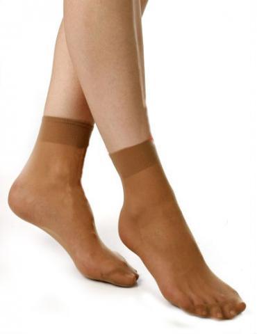 Dámské ponožky Elite SARA stříbro - 2 páry
