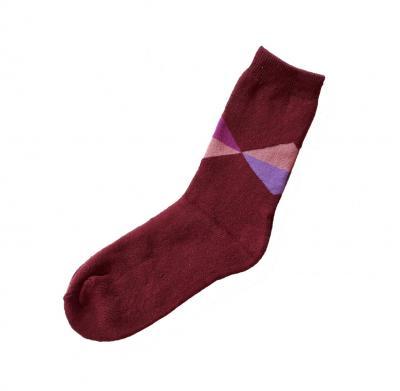 Dámské ponožky Pesail 208 Bambus Therm červená