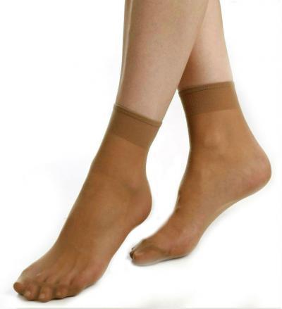 Dámské punčochové ponožky Novia N01- 10 párů