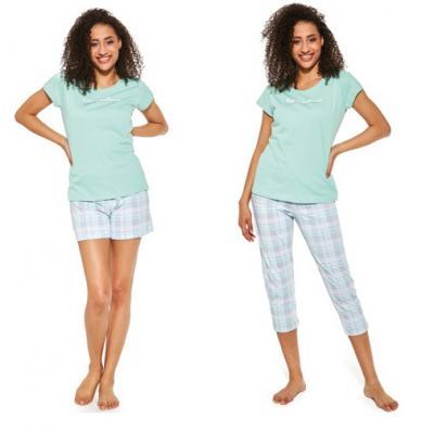 Dámské pyžamo Cornette 665/282 LET ME SLEEP 3 kusy