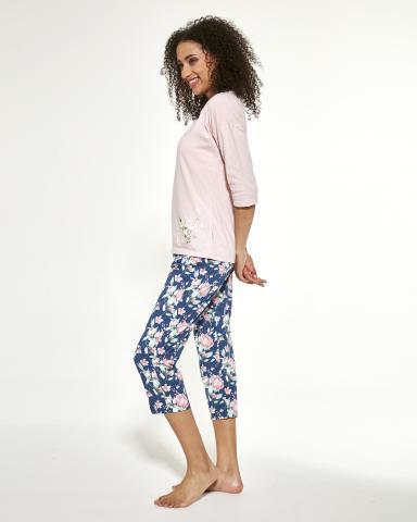 Dámské pyžamo Cornette Flower 463/288 nadměr