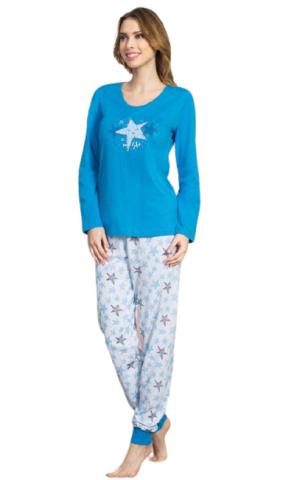Dámské pyžamo dlouhé Vienetta Secret My star
