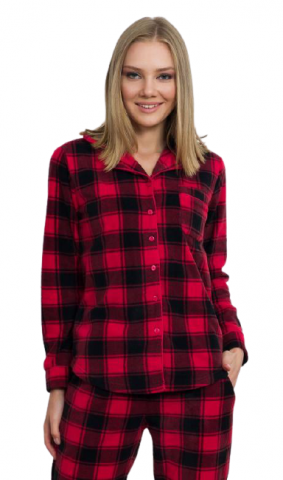 Dámské pyžamo dlouhé Vienetta Secret Paulína