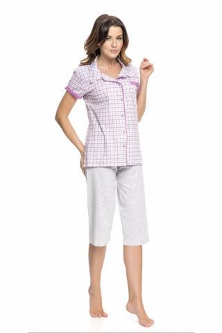 Dámské pyžamo Dobranocka 9050 fuchsia
