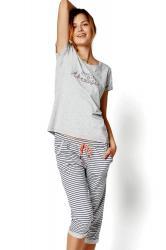 Dámské pyžamo Esotiq 35248 Riya 09x grey