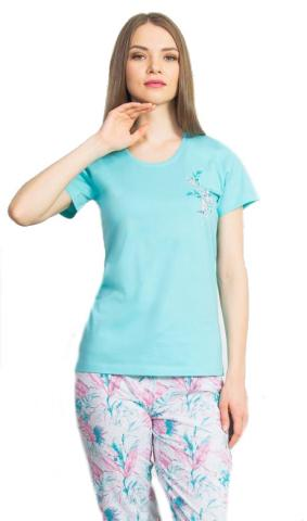 Dámské pyžamo kapri Vienetta Secret Jiřina