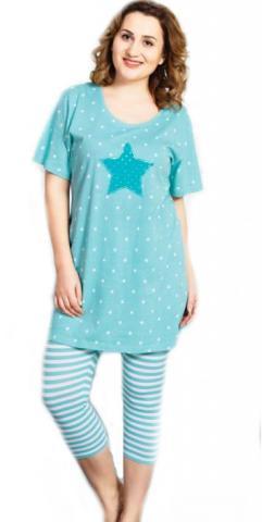 Dámské pyžamo kapri Vienetta Secret Julie