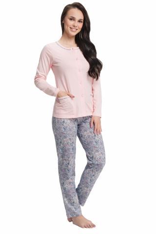 Dámské pyžamo Luna 505 růžové