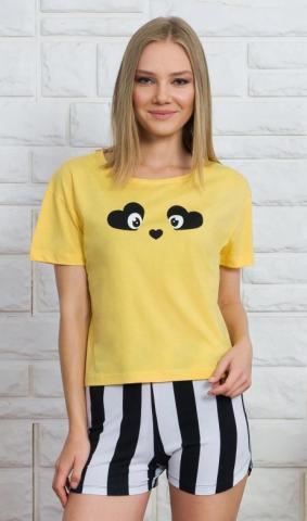 Dámské pyžamo šortky Vienetta Secret Paula