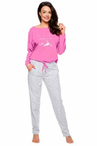 Dámské pyžamo Taro 1190 Nadia růžové