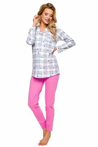 Dámské pyžamo Taro 2239 Dalia růžové