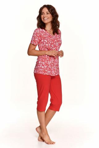 Dámské pyžamo Taro 908 Wera červené
