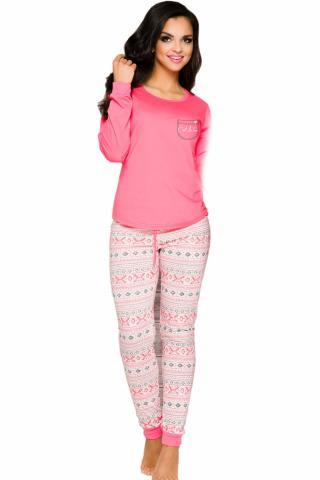 Dámské pyžamo TARO Nora 2124 růžové